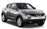 Nissan Juke car rental at Heathrow, UK