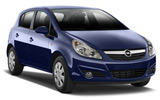 Opel Corsa car rental at Heathrow, UK