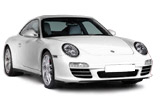 Porsche 911 car rental at Heathrow, UK